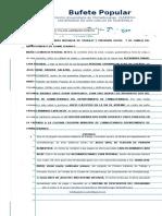 Juicio Ejecutivo en La via de Apremio María Clemensia Perobal Xetey