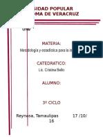 UPAV Estadística psicologia