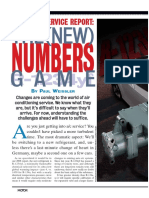 A/C Service Report - The New Numbers Game