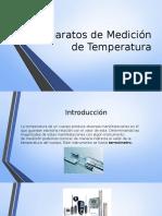 Aparatos de Medición de Temperatura