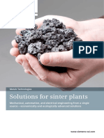 Solutions for Sinter Plants En