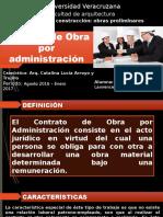 Obras Por Administracion