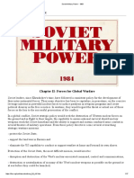 Soviet Military Power - 1983 Forces for Global Warfare