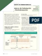 Conceptos Básicos de Hidratación Cutánea (II). Deshidratación