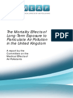COMEAP Mortality Effects of Long Term Exposure