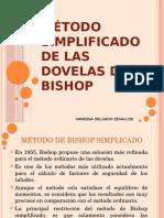 Método Simplificado de Las Dovelas de Bishop