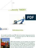 Charla Protocolo TMERT