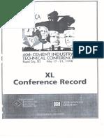 Pca Kiln Conference