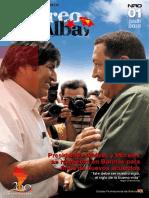 """Revista """"Correo del Alba"""" No. 1 - Junio, 2010"""