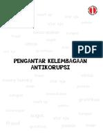 1. Pengantar Kelembagaan Antikorupsi