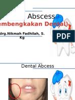 Dental GIGI PUS