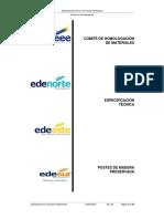 Eett0073--Especificacion Tecnica Postes de Madera