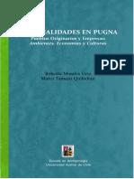 Racionalidades en Pugna Pueblos Originarios y Empresas Ambientes Economias y Culturas