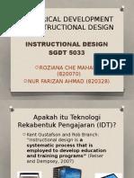 Historical Development of Instructional Technology