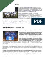 Fútbol de Guatemala