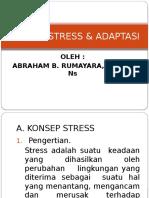Konsep Stress & Adaptasi