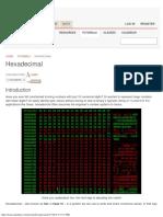 Hexadecimal - Learn.sparkfun.com