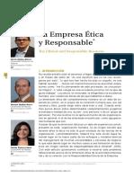 La Empresa Etica y Responsable