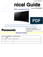 Panasonic LCD-201507 Tech Guide Curved LCD Ver.1.0