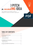 How to Pitch a Winning Idea
