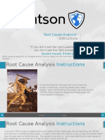 Root Cause Analysis Instructions