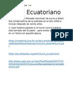 Sucre Ecuatoriano