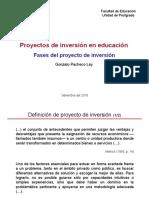 Tema 3 - Etapas Del Proyecto de Inversion