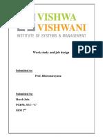 78600760 Work Study and Job Design