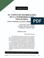 El costo de la información en la intermediación financiera.pdf