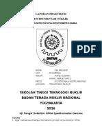 Laporan Uji Fungsi Detektor HpGe Spektrometer Gamma