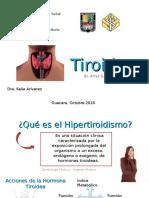 Seminario de Tiroides (hipertiroidismo, tirotoxicosis, tormenta tiroidea)