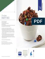 Tupperware Chocolatey Party Mix