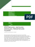 epistimologi bahan