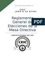 Reglamento Comite Electoral Ceic (1)