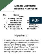 217913467 Penggunaan Captopril Pada Penderita Hipertensi POWERPOINT