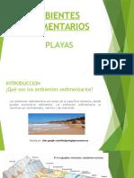 Ambientes Sedimentarios Playas