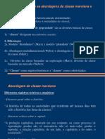 Material Didático - Comparação Marx-Weber