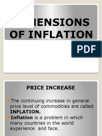 Dimensions of Inflation