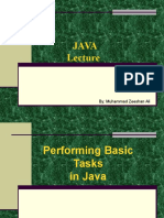 2. Basics of Java