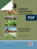 Cultivos Industriales 2006-2009