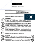 Directiva Procedimiento Para La Contratacion de Personal en El OSIPTEL