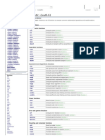 CMATH Function List for COMP218