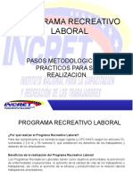 Programa Recreativo Laboral