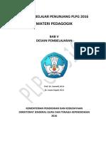 05. Materi Pedagogik Plpg Bab-V-Desain-pembelajaran