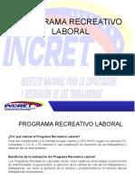 Programa de Recreación y Uso del Tiempo Libre