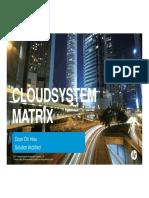 HP CloudSystem Matrix