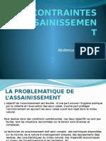 Assainissement_partie_2_Conraintes d'assainissement.pptx