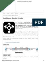 Load Balancing Mikrotik di Virtualbox - Zufar Dhiyaulhaq.pdf
