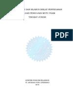 6. Kursil Refreshing Evaluasi Pengujian Mutu Foam Junior