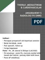 Radiologi Thorax, Mediastinum & Cardiovascular